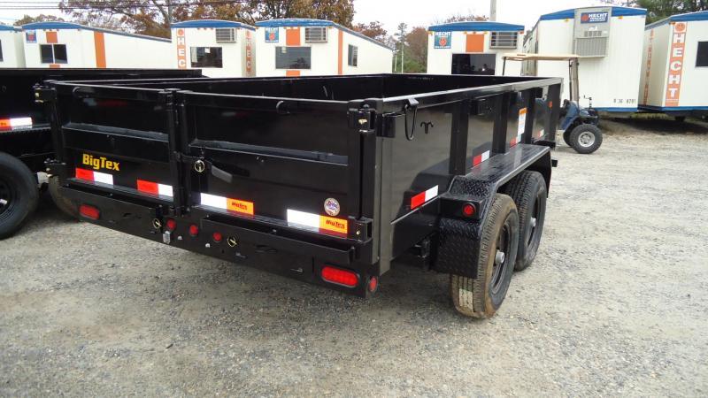 2020 Big Tex Trailers DT 6X12 90SR 12BK 7SIR BLACK Dump Trailer