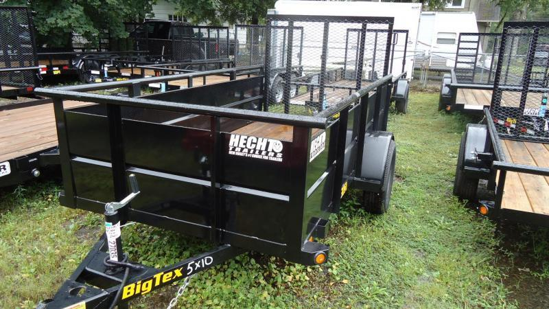 2020 Big Tex Trailers UT 5X10 30SV 10BK4RG BLACK Utility Trailer