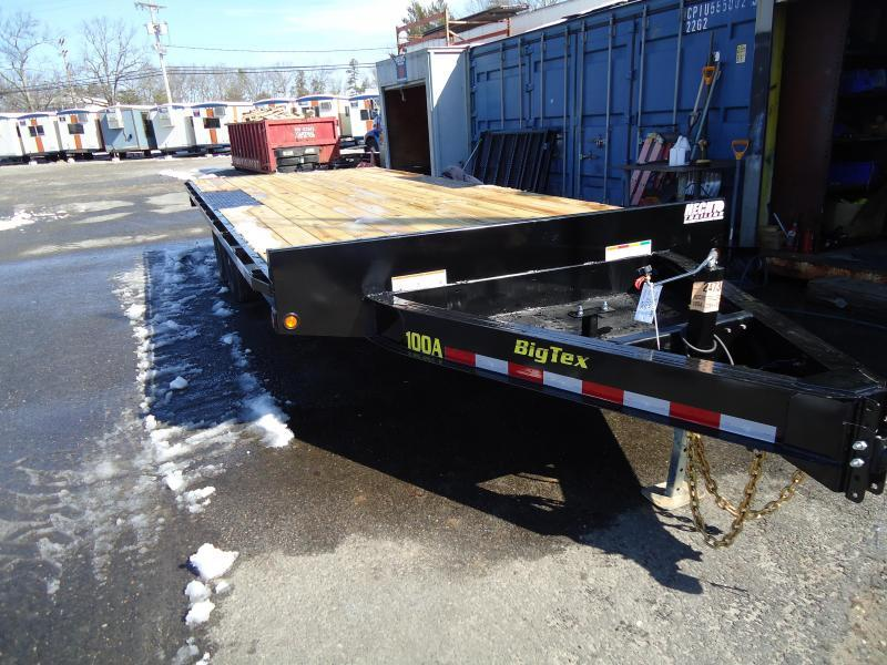 2020 Big Tex Trailers EH-8.5X20 10OA 20BK8SIR BLACK Equipment Trailer