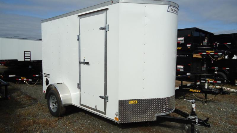 2020 Haulmark 6X10 PP S2-D RAMP WHITE Enclosed Cargo Trailer