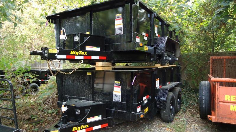 2020 Big Tex Trailers DT 7X12 10SR 12XLBK7SIR BLACK Dump Trailer