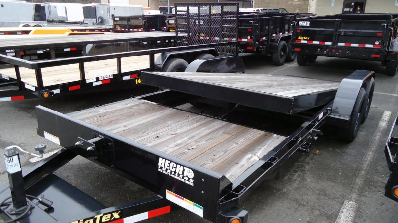 2019 Big Tex Trailers EH- 7X20 10TL 20BK 16+4 2EB BLACK Equipment Trailer