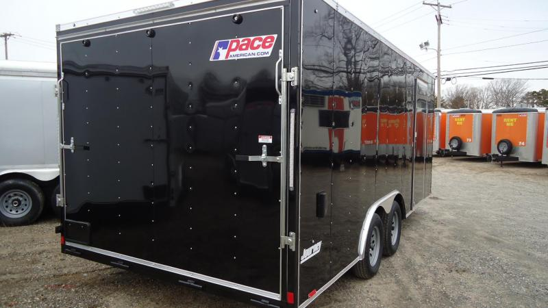 2021 Pace American JV8.5X18TE3SE Enclosed Cargo Trailer