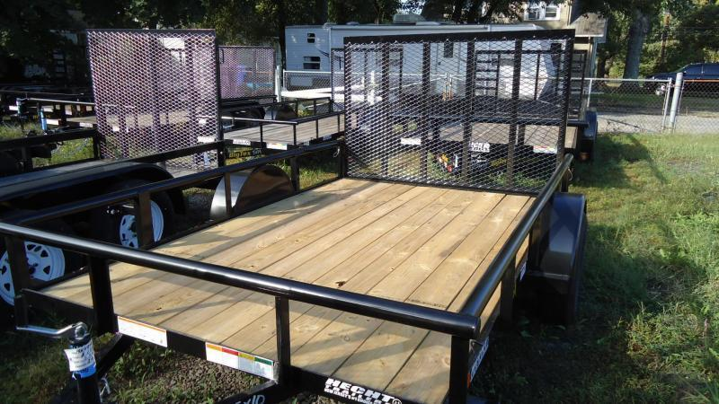 2019 Big Tex Trailers UT 6.5X10 35SA 10BK4RG BLACK Utility Trailer