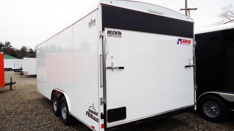 2021 Pace American 8.5X20 CLS TE3 18XA RAMP WHITE Car / Racing Trailer