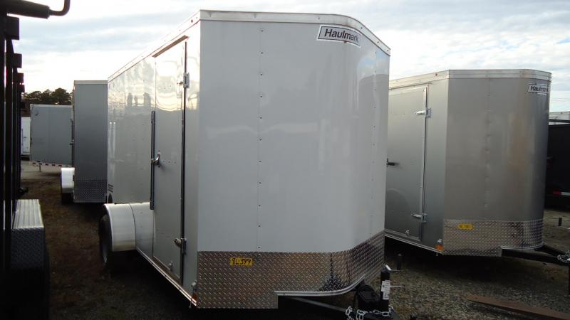 2020 Haulmark 6X12 PP S2D EB RAMP WHITE Enclosed Cargo Trailer