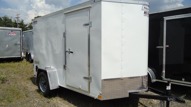 2020 Haulmark 6X10 PPT S2 WHITE Enclosed Cargo Trailer