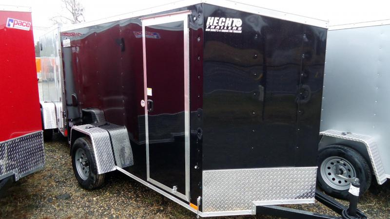 2020 Pace American 5X10 OBDLX SI2 24VS RAMP SVNT BLACK Enclosed Cargo Trailer