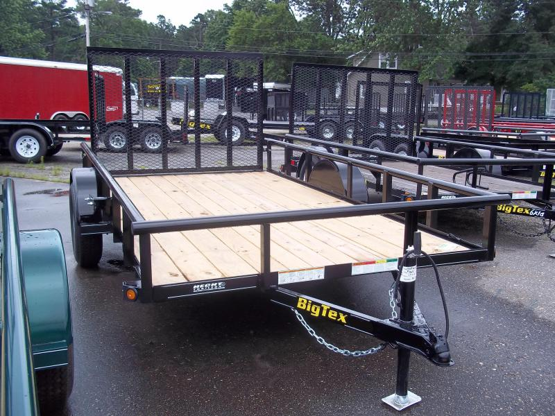 2020 Big Tex Trailers UT 7X14 35SA 14XBK 4RG BLACK Utility Trailer