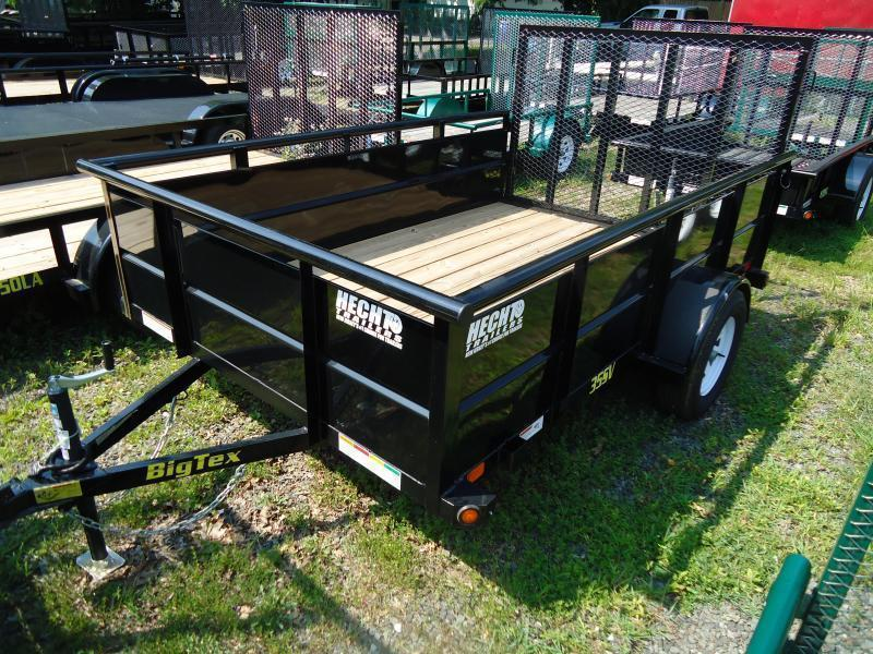 2020 Big Tex Trailers UT 6.5X12 35SV 12BK4RG BLACK Utility Trailer