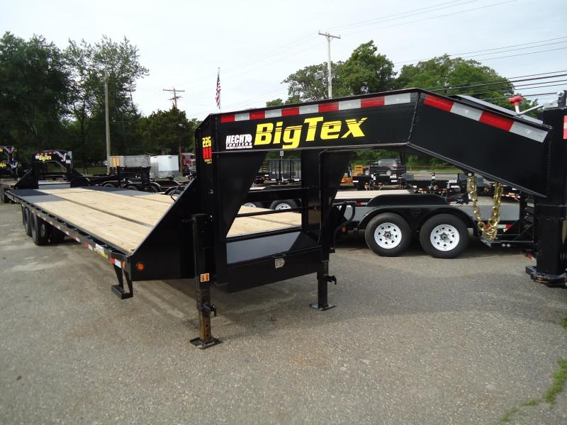 2019 Big Tex Trailers EH 8.5X35 22GN 35HDTS 26 FLAT9 HYD DT BLACK Equipment Trailer