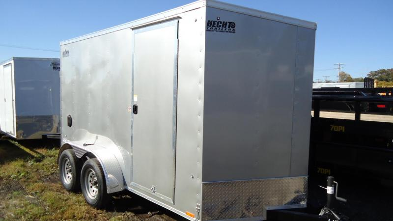 2020 Pace American 6X12 OBDLX 24VS 6X RAMP SVNT SILVER Enclosed Cargo Trailer