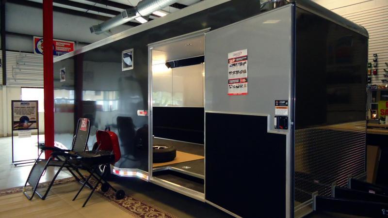 2020 Bravo Trailers 8.5X24 IC TA3 TOP GUN RAMP SPARE CHARCOAL Car / Racing Trailer