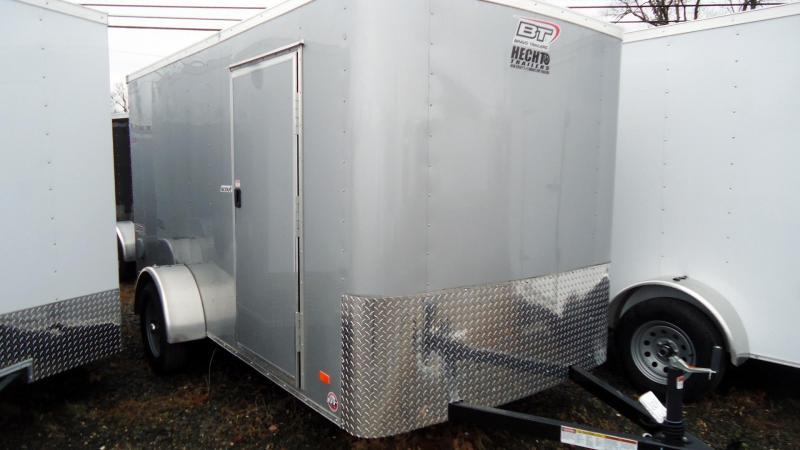 2019 Bravo Trailers 6X12 SC RAMP SILVER Enclosed Cargo Trailer