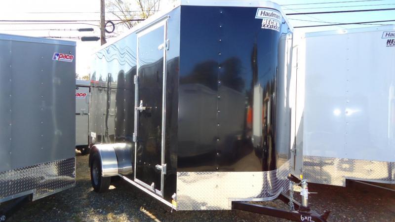2020 Haulmark 6X12 PP S2D 6X RAMP BLACK Enclosed Cargo Trailer