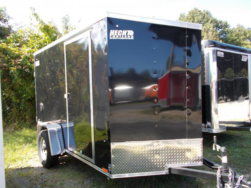 2020 Pace American 6X10 OBDLX SI2 24VS SVNT BLACK Enclosed Cargo Trailer