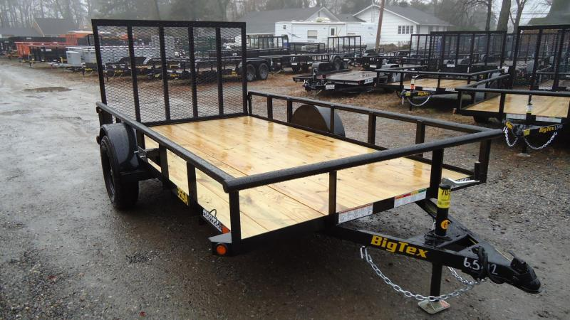 2020 Big Tex Trailers UT 6.5X12 35SA 12B 4RG BLACK Utility Trailer