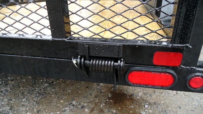 2020 Big Tex Trailers UT 6.5X12 35SA 12BK4RG BLACK Utility Trailer