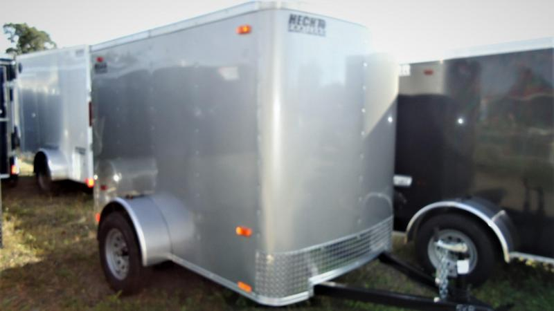 2020 Pace American 5X8 OB SI2 FDJCKS DRNG SILVER Enclosed Cargo Trailer