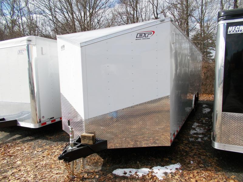 "2019 Bravo Trailers 8.5X24 SC TA3 V 54"" TUNG RAMP WHITE Enclosed Cargo Trailer"