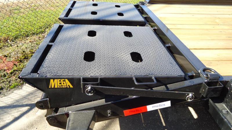 2020 Big Tex Trailers EH 7X18 14ET 16BKMR MEGA BLACK Equipment Trailer
