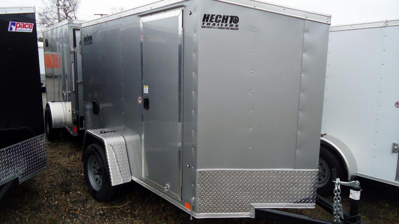 2020 Pace American 5X8 OB SI2 24VS SD RAMP SVNT SILVER Enclosed Cargo Trailer