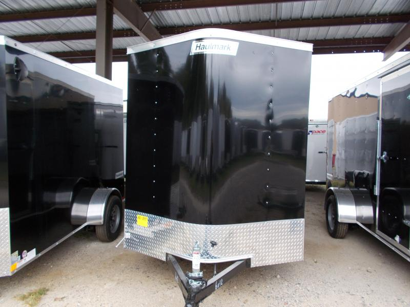 2020 Haulmark 6X12 PPT S2 D BLACK Enclosed Cargo Trailer