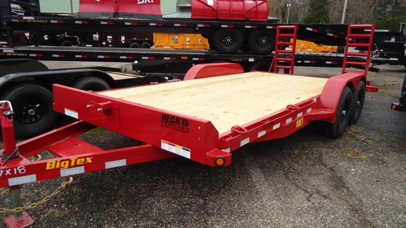 2020 Big Tex Trailers EH 7X18 10ET 18RD KR KNEE RED Equipment Trailer