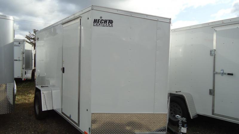 2020 Pace American 6X12 OBDLX SI2 24VS RAMP SVNT WHITE Enclosed Cargo Trailer