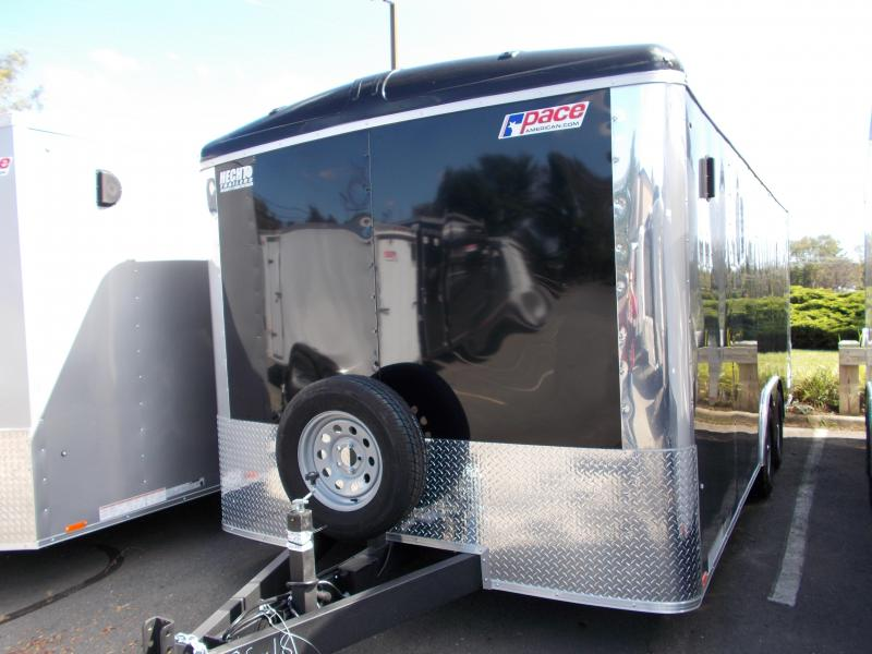 2020 Pace American 8.5X18 CLS TE2 18XA RAMP SVNT BLACK Enclosed Cargo Trailer