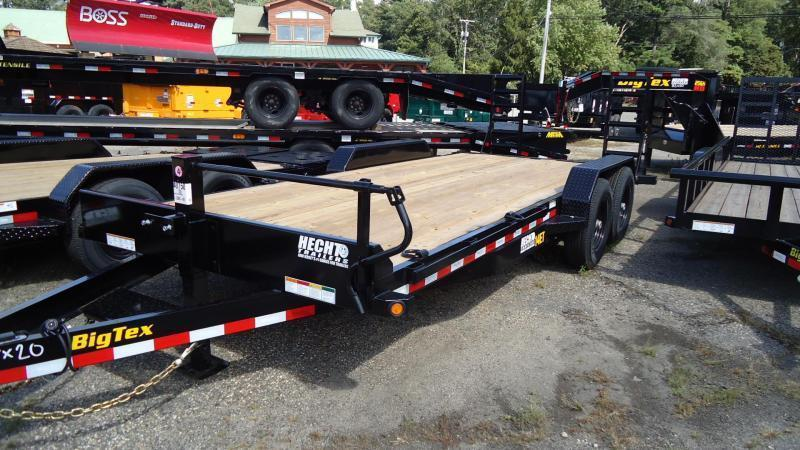 2020 Big Tex Trailers EH 7X20 14ET 20BK KR KNEE BLACK Equipment Trailer