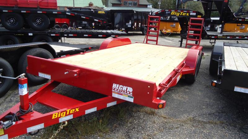 2020 Big Tex Trailers EH 7X20 10ET 20KR RD KNEE RED Equipment Trailer