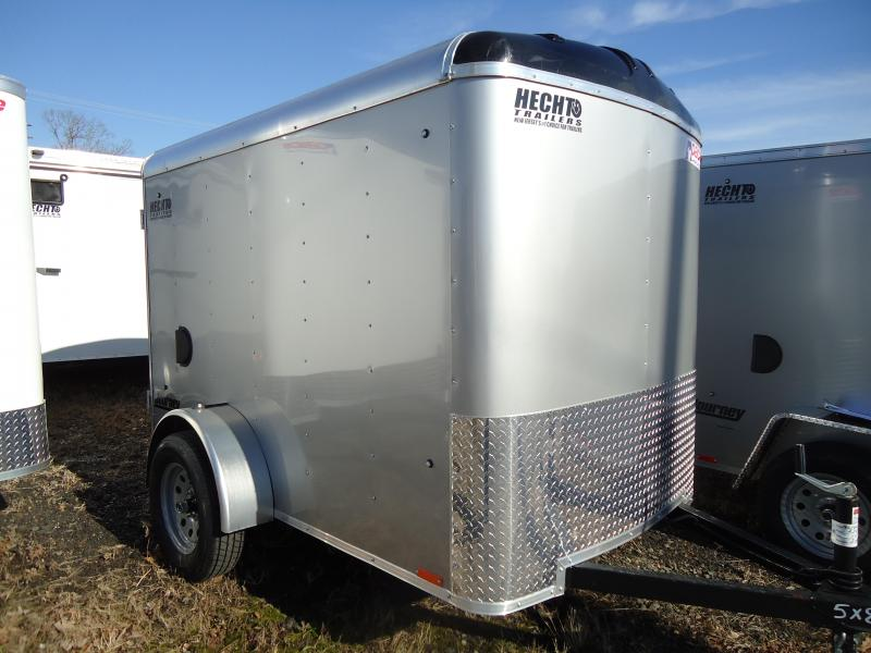 2019 Pace American 5X8 JT SI2 RAMP SVNTS SILVER Car / Racing Trailer