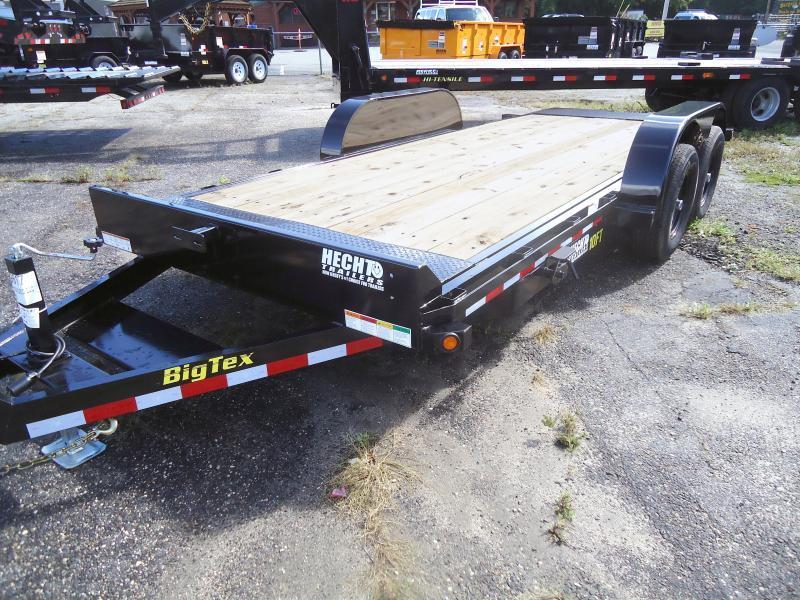 2019 Big Tex Trailers EH 6.5X18 10FT 18BK FULL TILT 2EB BLACK Equipment Trailer