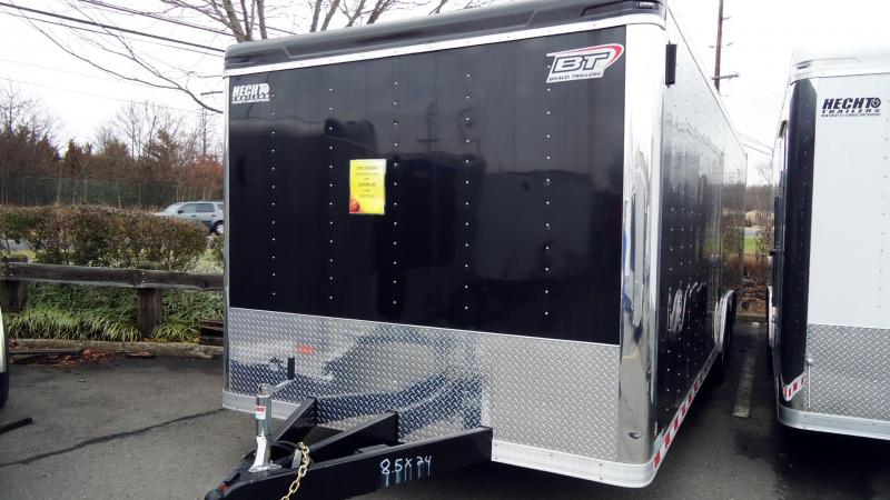2020 Bravo Trailers 8.5X24 ST EQUIP RAMP BLACK Enclosed Cargo Trailer