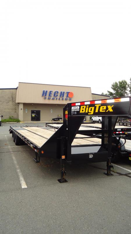 2020 Big Tex Trailers EH 8.5X33 22GN 28BK 5MR MEGA BLACK Equipment Trailer