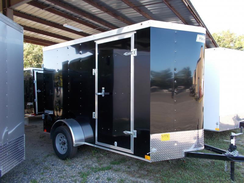 2020 Haulmark 6X10PP S2-D BLACK Enclosed Cargo Trailer