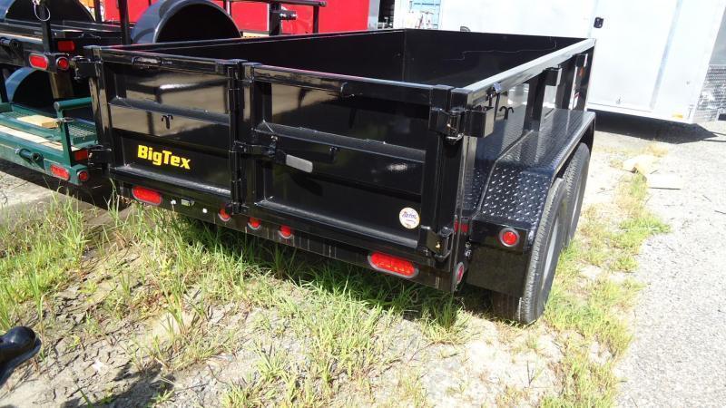 2020 Big Tex Trailers DT 5X10 70SR 10 5WDD BLACK Dump Trailer