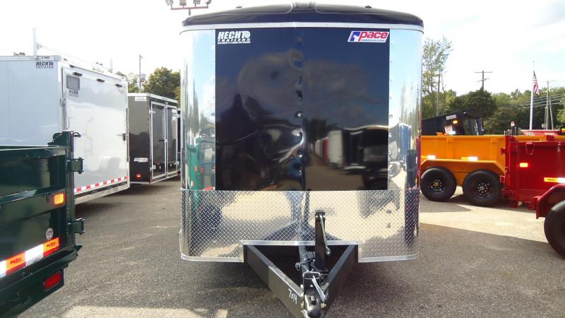 2020 Pace American 7X14 CLS TE2 6X 18XA RAMP SVNT BLACK Enclosed Cargo Trailer