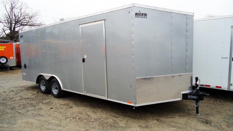 2020 Pace American Outback Dlx 8.5X20 OBDLX TE2 30VS RMP+ SVNT SILVER Cargo / Enclosed Trailer