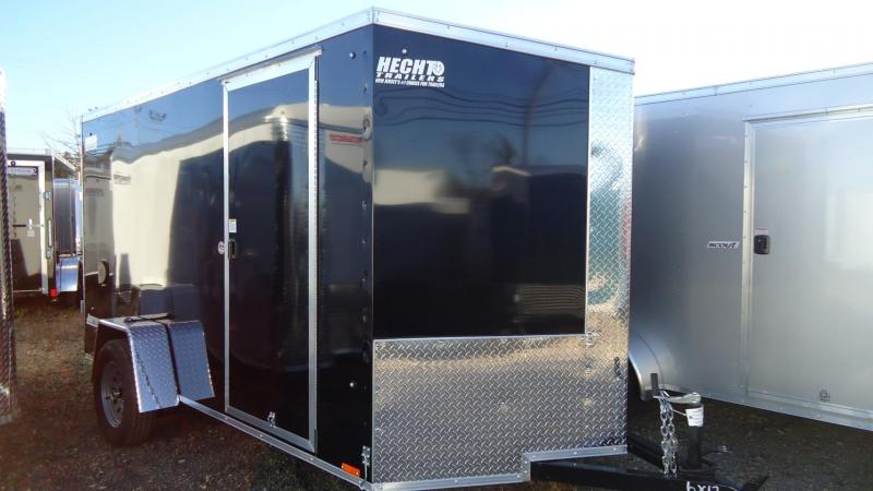 2021 Pace American 6X12 JVSE SI2 24VS RAMP SVNTS BLACK Enclosed Cargo Trailer