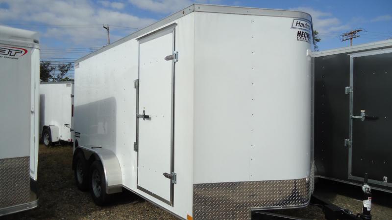 2020 Haulmark 7X14 PPT T2 RAMP WHITE Enclosed Cargo Trailer