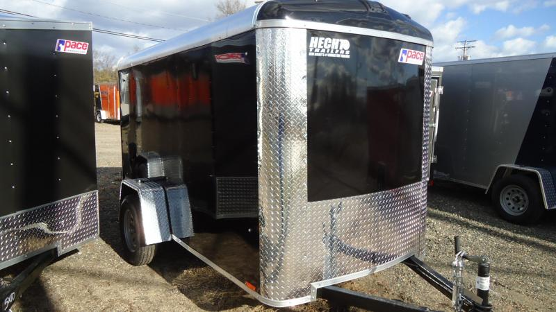 2020 Pace American 5X10 JTSE SI2 RAMP DRNG SVNT BLACK Enclosed Cargo Trailer