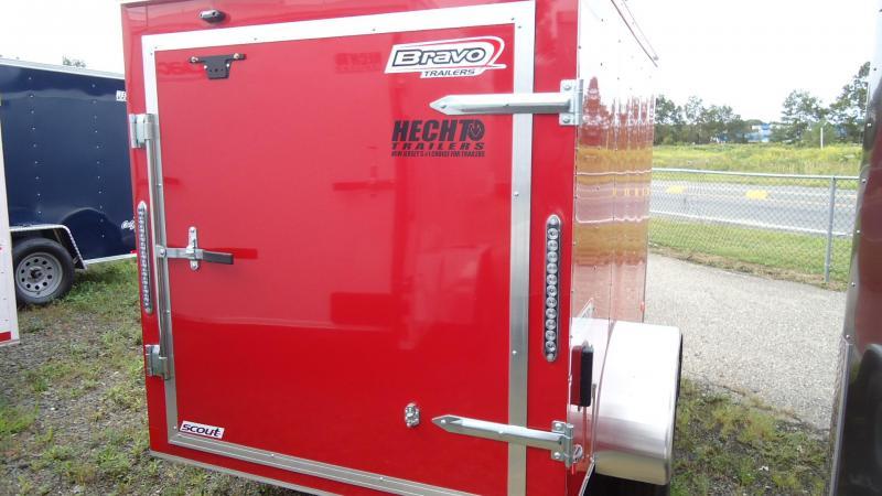 2020 Bravo Trailers 5X8 SC SA APP RED Enclosed Cargo Trailer