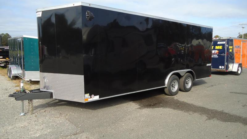 2020 Haulmark 8.5X20 TSV T3 V RAMP BLACK Enclosed Cargo Trailer