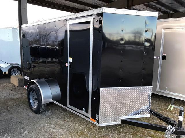 2021 Pace American 5X10 JV SI2 18W SD SVNT BLACK Enclosed Cargo Trailer