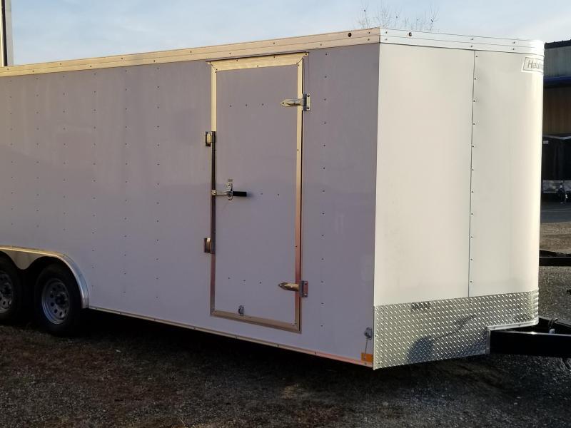 2020 Haulmark 8.5X20 PP T2-D WHITE Enclosed Cargo Trailer
