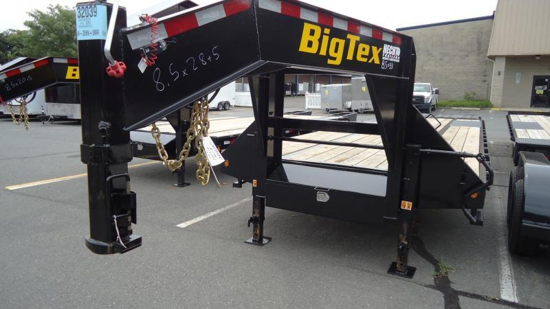 2020 Big Tex Trailers EH 8.5X33 22GN 28BK +5MR MEGA BLACK Equipment Trailer
