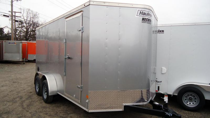 2020 Haulmark 7X14 PP T2-D RAMP SILVER Enclosed Cargo Trailer