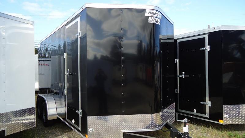 2020 Haulmark 7X16 PPT T2 RAMP BLACK Enclosed Cargo Trailer